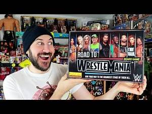 New WWE Road To Wrestlemania Board Game AVAILABLE NOW!!!