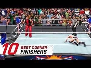 WWE 2K18 Top 10 Best Corner Finishers (Animations!)