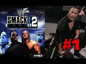 WWE SmackDown! 2 THE ROCK VS MANKIND I QUIT MATCH ROYAL RUMBLE 1999