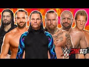 Jeff Hardy vs. Tye Dillinger vs. Aleister Black vs. Roman Reigns vs. Chris Jericho vs. Triple H