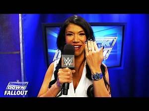 Rosa shares her happy surprise: SmackDown Fallout, October 15, 2015