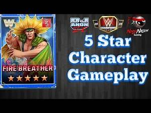 5 Star Character Gameplay-Ricky Steamboat-The Dragon-WWE Champions