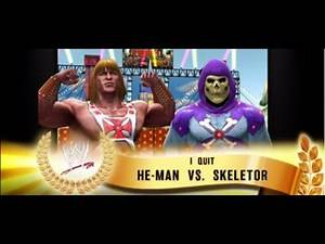 WWE 2K14 He-man VS Skeletor