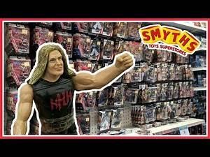 TOY HUNT!!!   FINDING TRIPLE H IN WALES   WWE Mattel Wrestling Figure Shopping Fun #88