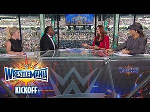 The Ultimate Thrill Ride begins with the WrestleMania 33 Kickoff panel: WrestleMania 33 Kickoff