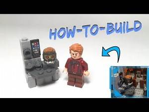 How to Build a Table w/ Zune Player for a Lego Benatar! (Subscriber's Request)