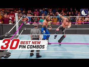 WWE 2K19 Top 30 New Pin-Combos (Animations)