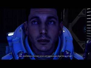 MASS EFFECT ANDROMEDA - Scott Ryder Gets High, Fixed Quest: Running a Fever ( Mordin Reference)