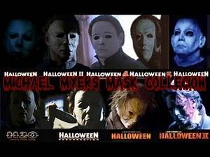Michael Myers Mask Collection