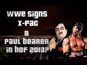 WWE News - X-Pac signs with WWE, Paul Bearer's Funeral & More