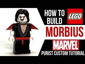HOW TO Build LEGO MORBIUS from Marvel Comics