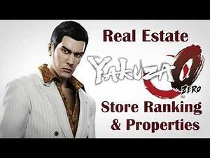 Yakuza 0 Real Estate Store Ranking S & Properties (2020)
