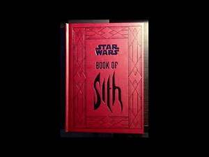 Star Wars Book Of Sith 13 Sith Incantations