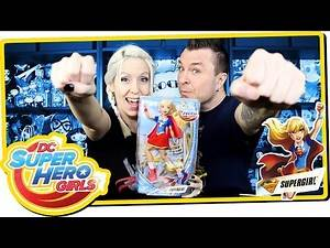 DC Super Hero Girls SUPERGIRL Action Doll Review & Unboxing