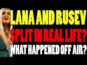 What Happened After Raw Went Off Air? Did Lana And Rusev Break Up In Real Life? Paige News? WWE NEWS