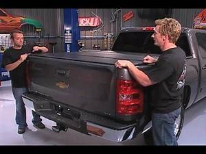 Fold a Cover on Truck Universe TV Show