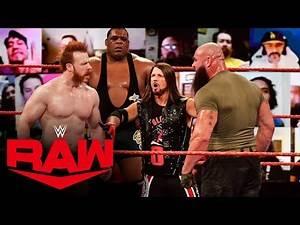 Braun Strowman states his Survivor Series case: Raw, Nov. 2, 2020