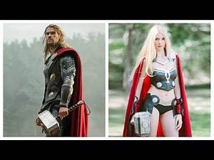 Superheroes Characters Gender Swap Version