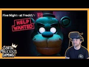 Five Nights at Freddy's Wants Help in VR and Jackbox- Recorded Oct 10, 2019