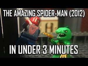 THE AMAZING SPIDER-MAN (2012) IN UNDER 3 MINUTES