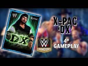 """WWE CHAMPIONS - X-PAC """"DX"""" - 4* GAMEPLAY"""