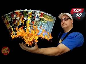 My Top 10 SPIDER-MAN Comics are on FIRE!!! Best & Most Valuable Comic Books in my Collection