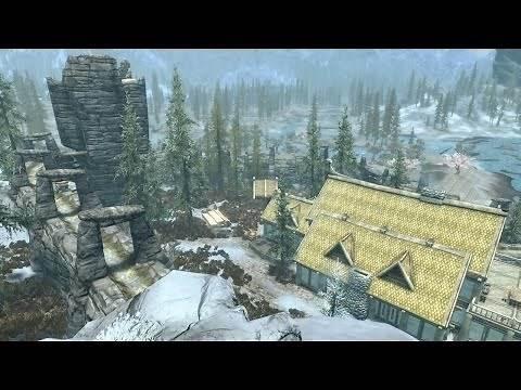 Skyrim PS4 Mods: Draco's Windstad Manor Upgrades (DLC Upgrade)