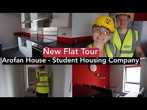 New Flat Tour | Student Halls | Arofan House - The Student Housing Company