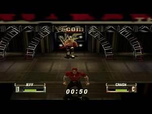 WWF/WWE No Mercy - Jeff Hardy (Championship Mode) Defending The Hardcore Championship (N64)