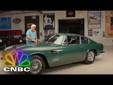 Jay Leno's Garage: Jay And Brad Garrett Go For A Ride In A 1969 Aston Martin DB6 | CNBC Prime