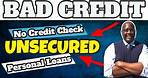 Unsecured Loans   Top 5 Best Unsecured Personal Loans For Bad Credit With No Credit Check 2021