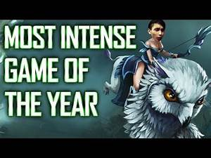 MOST INTENSE GAME OF THE YEAR - SingSing Dota 2 Highlights