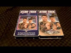 Two Different Version Of Star Trek The Cage VHS