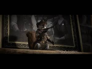 Red Dead Redemption 2 - Cowboy Squirrel Statue and 100% Completion