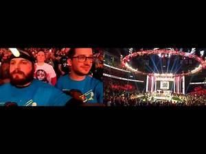 Sami Zayn enters the Royal Rumble - Fan Reaction
