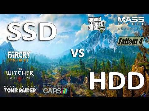 SSD vs HDD Test in 7 Games (LoadingFPS)