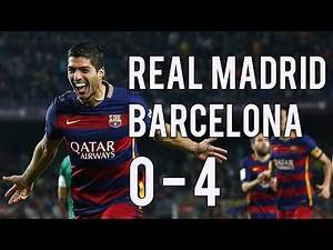 REAL MADRID 0-4 BARCELONA | El Clasico | La Liga Stats