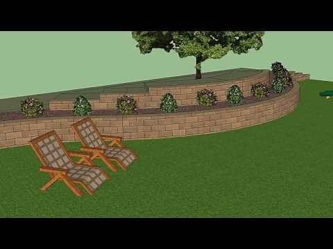 Allan Block 3D Modeling Tool for Retaining Walls