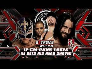 WWE Extreme Rules 2010 - Official And Full Match Card HD (Vintage)
