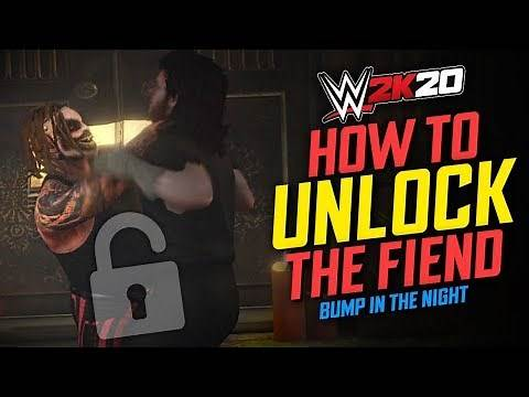 "HOW TO UNLOCK ""THE FIEND"" IN WWE 2K20!! (2K Originals - Bump In The Night DLC)"