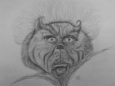 How To Draw A Grinch Face