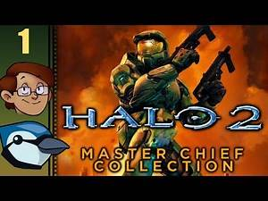 Let's Play Halo 2 Co-op Part 1 - Cairo Station & Outskirts (Master Chief Collection)