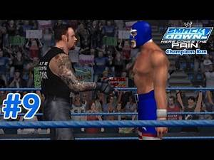 WWE SmackDown! Here Comes the Pain: Season Mode (Smackdown Champions Run) Part 9