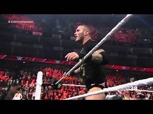 Randy Orton RKO on Joey Mercury - Raw - April 13, 2015