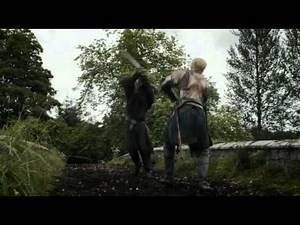 Game of Thrones 3x02 Jaime and Brienne Sword Fight