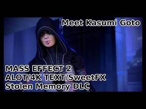 Stolen Memory DLC   Kasumi Goto - Mass Effect 2   Full HD   ALOT 4K   SweetFX