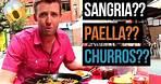 Spanish Food MYTHS BUSTED! (Paella, Sangria, Churros)