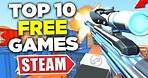 TOP 10 Free PC Games 2021 (STEAM)