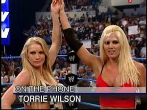 04.18.03 WWE Byte This - Torrie Wilson Interview about Playboy and Sable's return (Rare)