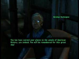 Fallout 3 - Stealing the Declaration of Independence Quest Part 5/5 (XBox 360 Version)